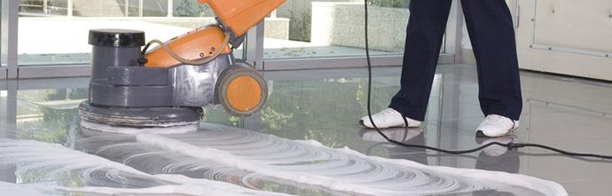 Sonderreinigung - Boden polieren