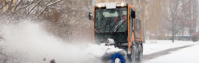 Winterdienst - Schnee räumen